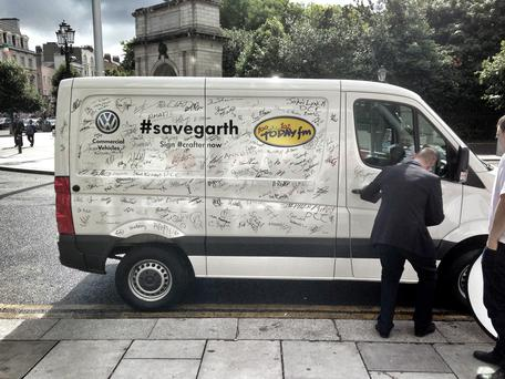 The #savegarth appeal from Volkswagen