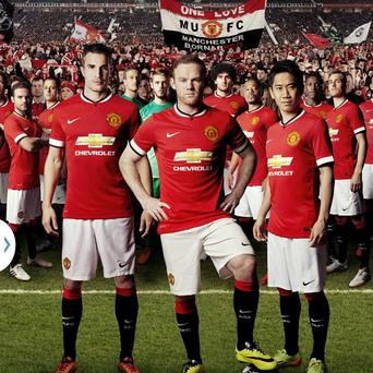The new Manchester United home kit for next season