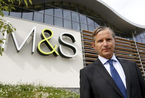 Marc Bolland, chief executive officer of Marks & Spencer Group
