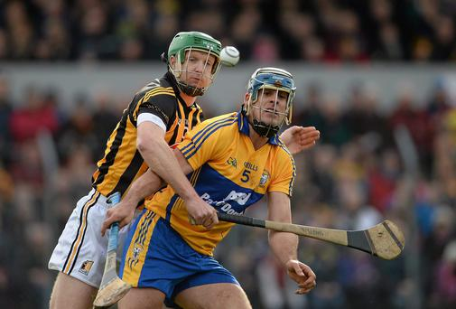 'Brendan Bugler's magnificent form for Clare last summer might be best explained by an awareness that a singular chance for inter-pcounty glory was within his fingertips.' Photo: Diarmuid Greene / SPORTSFILE