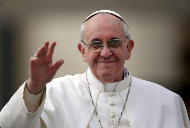Pope Francis has vowed to clean up scandal-ridden Vatican bank. (Photo by Christopher Furlong/Getty Images)