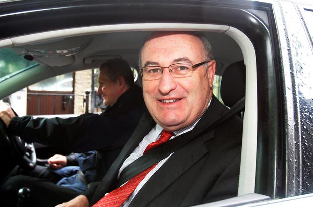 Phil Hogan,TD,the Minister for the Environment arriving for the Cabinet meeting at Government Buildings yesterday. Picture: Tom Burke