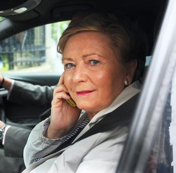 Frances Fitzgerald,TD,the Minister for Justice and Defence. Picture: Tom Burke