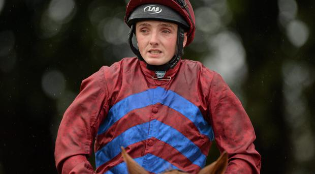 Chris Hayes took Limerick by storm yesterday as the jockey reeled off a fabulous four-timer – the highlight of which was victory on smart hurdler Katie T in the 12-furlong handicap