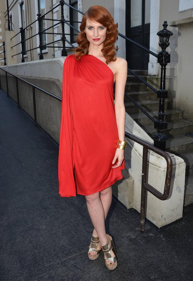 Faye Dinsmore hosted a Fashion Awards in 2011