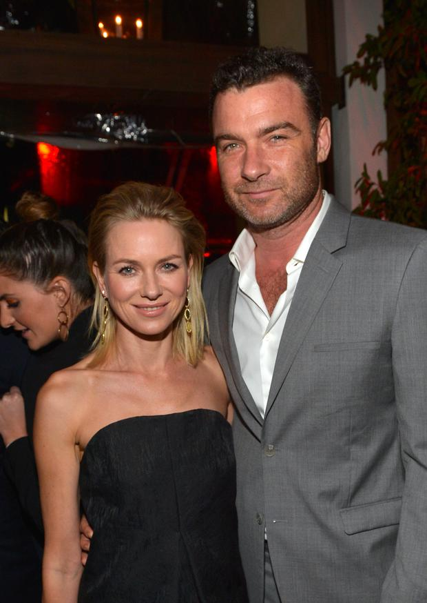 BEVERLY HILLS, CA - JANUARY 09: Actress Naomi Watts and actor Liev Schreiber attend Golden Globes Weekend Audi Celebration at Cecconi's on January 9, 2014 in Beverly Hills, California. (Photo by Charley Gallay/Getty Images for Audi)