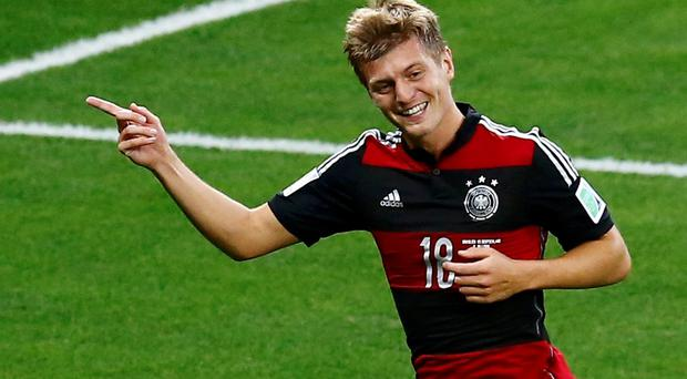 Toni Kroos has moved to Real Madrid