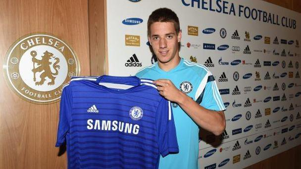 Chelsea have signed 19-year-old midfielder Mario Pasalic from Croatian side Hajduk Split