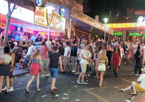 Magaluf is now a destination of choice for the post-Leaving Cert holiday.
