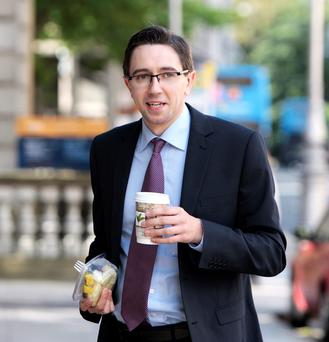 Simon Harris is being tipped for promotion to the junior ministerial ranks next week
