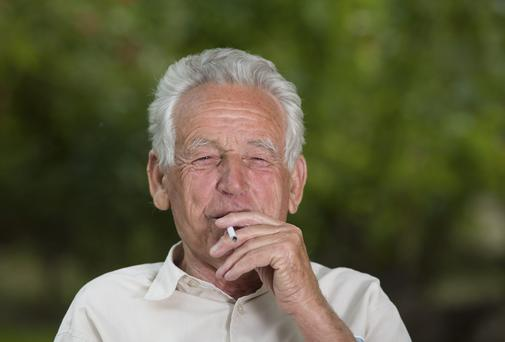 Smokers have a 45pc higher risk of developing dementia, a new study says. THINKSTOCK images