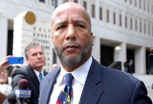 Former New Orleans Mayor C. Ray Nagin leaves court after being sentenced to 10 years in New Orleans, Louisiana. A jury in February found Nagin guilty of charges including bribery, wire fraud, conspiracy, money laundering and tax evasion, all in the wake of Hurricane Katrina. REUTERS/Jonathan Bachman