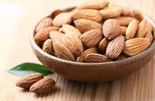 California grows 80pc of the world's almonds