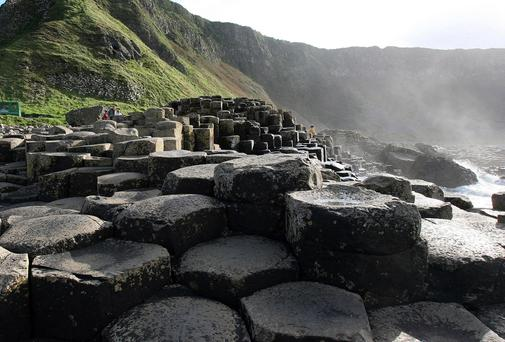 World Heritage Site: the 'Causeway Coast'.