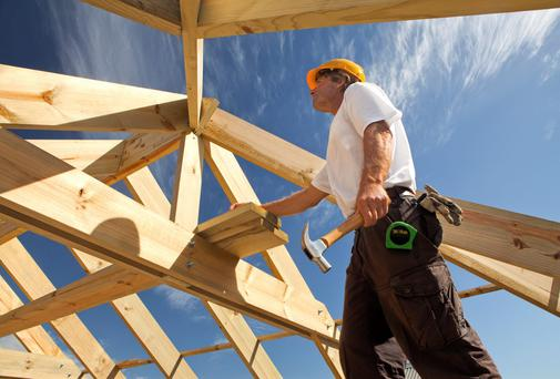 Work is increasing for tradesmen
