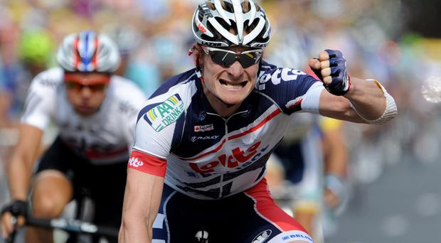 Germany's Andre Greipel sealed his sixth ever Tour stage win yesterday in Champagne country. Photo credit: PASCAL PAVANI/AFP/GettyImages