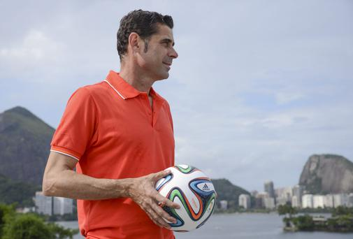European champions Real Madrid, have confirmed the appointment of the club's former star, Fernando Hierro, as assistant coach. Photo credit: Raphael Dias/Getty Images for Adidas