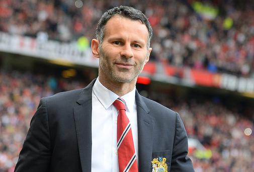 Manchester United's assistant manager Ryan Giggs