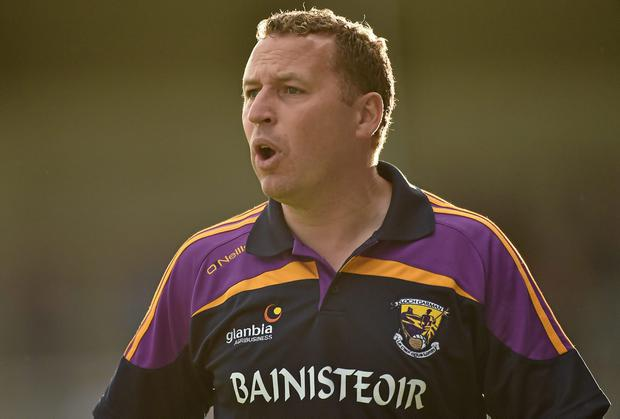Wexford manager JJ Doyle