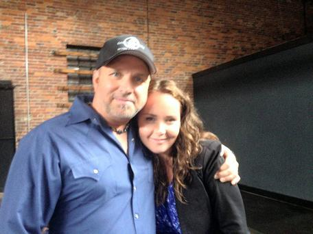 Garth Brooks and Joyce Fegan