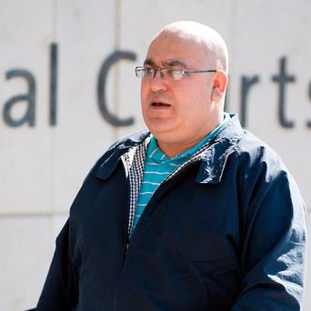 Samir Mansour at Central Criminal Court, Dublin