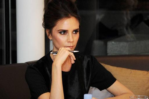 Victoria Beckham attends the 2013 International Woolmark Prize Final at ME London
