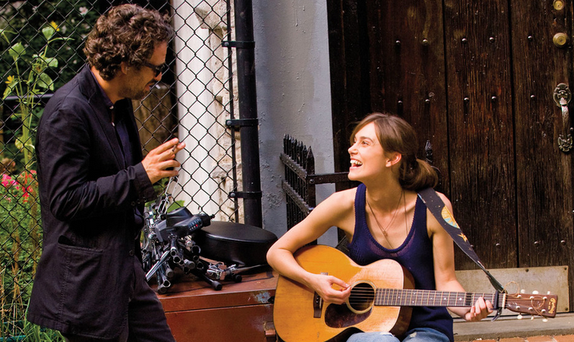 Mark Ruffalo and Keira Knightley in 'Begin Again'