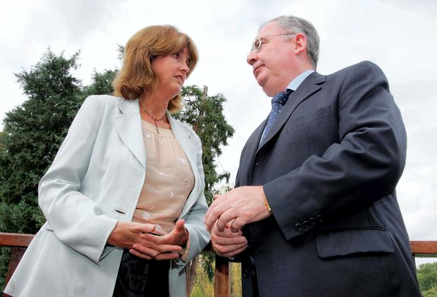 Joan Burton and Pat Rabbitte