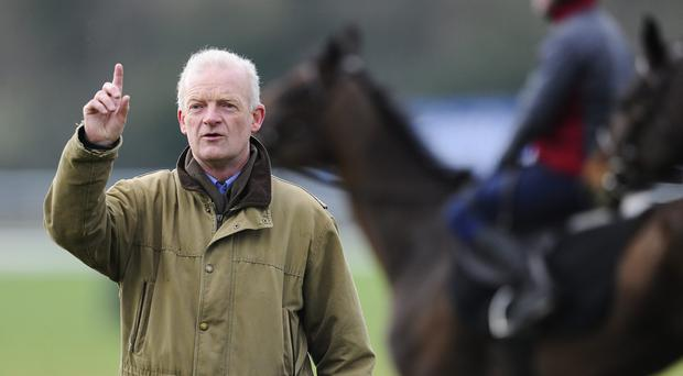 If Willie Mullins' Simenon can perform to its ability, it should scoop the Kevin McManus Bookmaker Grimes Hurdle. Photo: Alan Crowhurst/Getty Images