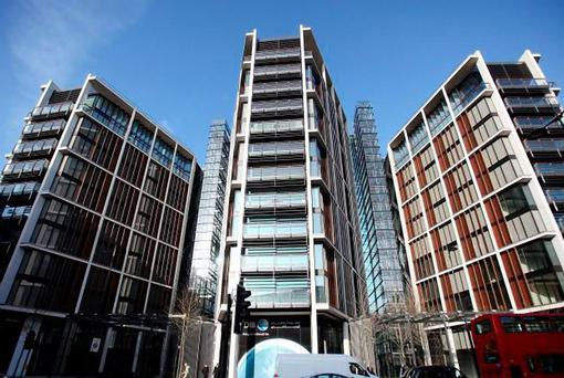 TROPHY: The One Hyde Park development in central London. JP Morgan is likely to focus its property investments on the UK and Spain