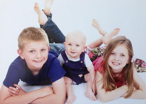 Last July 16, the O'Shea's three children –  Soren (11), Saoirse (9) and Connor (3) – were killed when a speeding driver ploughed into their car near Mrs O'Shea's family home near Sindal, north Denmark.