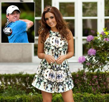 Nadia Forde has opened up about her friendship with Rory McIlroy, saying she loves a man with 'ambition and drive'.