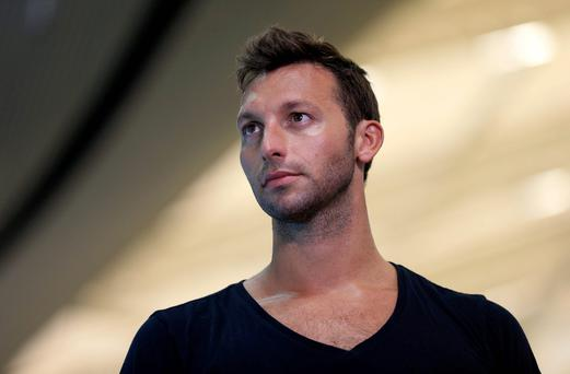 Olympic swimmer: Ian Thorpe. Photo: PA