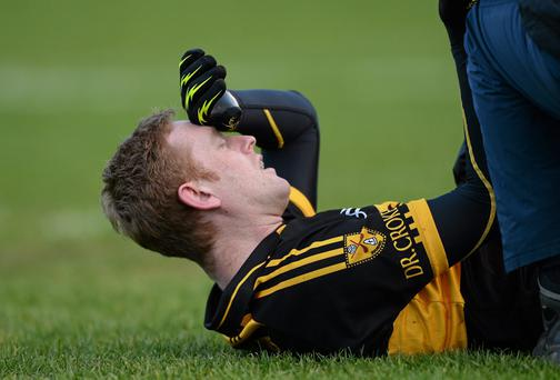 Colm Cooper's absence proved crucial as Dr Crokes were defeated by their Killarney rivals Legion. Photo: Paul Mohan / SPORTSFILE