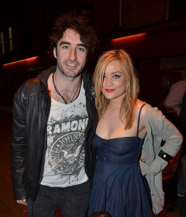 The couple pictured together in 2011