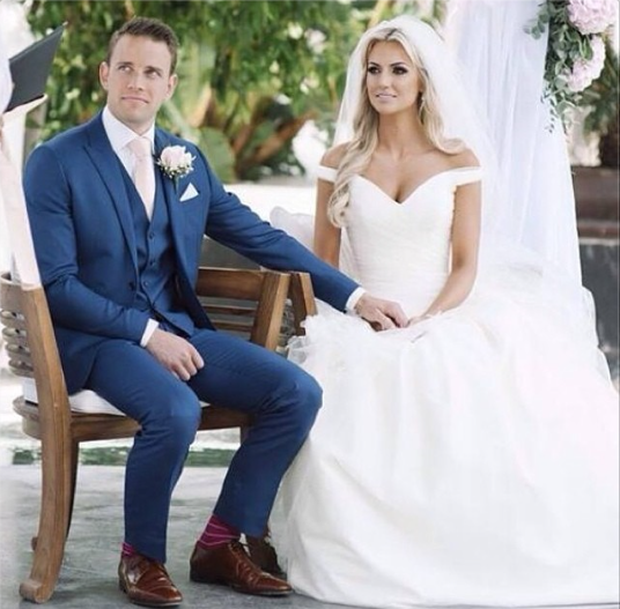 Rosanna Davison wed long-term partner Wesley Quirk this summer after eight years together