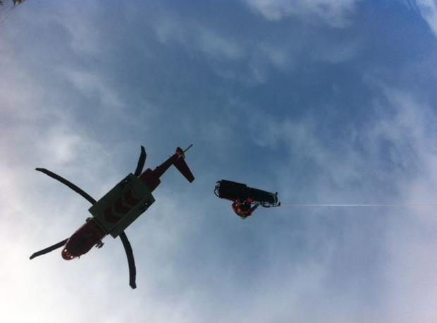 That Shannon based search & rescue helicopter was deployed