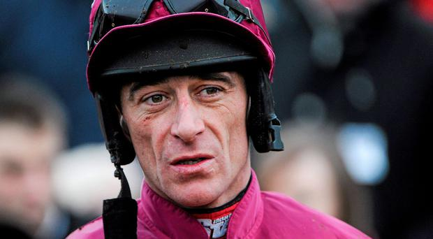 Jockey Davy Russell can steer Domination to victory. Photo: Ramsey Cardy / SPORTSFILE