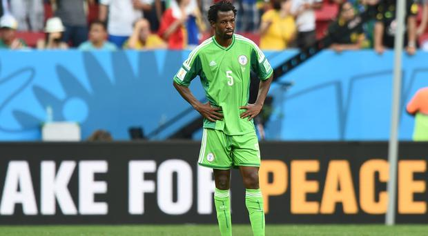 Celtic defender, Efe Ambrose, has only returned to the Glasgow side this week after playing for Nigeria in the World Cup. Photo credit: JEWEL SAMAD/AFP/Getty Images