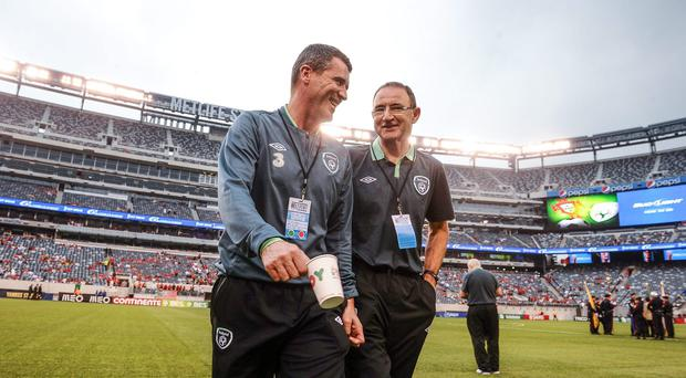 Martin O'Neill says he doesnt believe Roy Keane's role at Aston Villa will interfere with his job with the Ireland squad. Picture credit: David Maher / SPORTSFILE