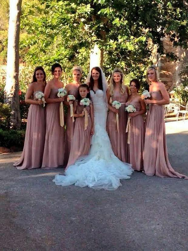 Mike McCarthy and Jessica McClean wedding