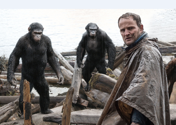 Jason Clarke in Dawn of the Planet of the Apes