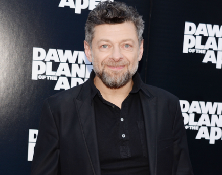 Andy Serkis who reprises his role as Caesar in Dawn of the Planet of the Apes