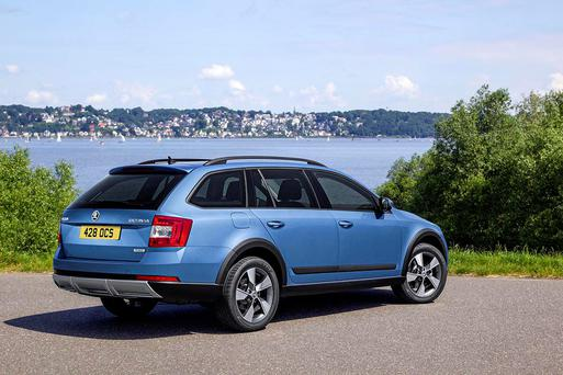 Skoda Octavia's new off-road look.