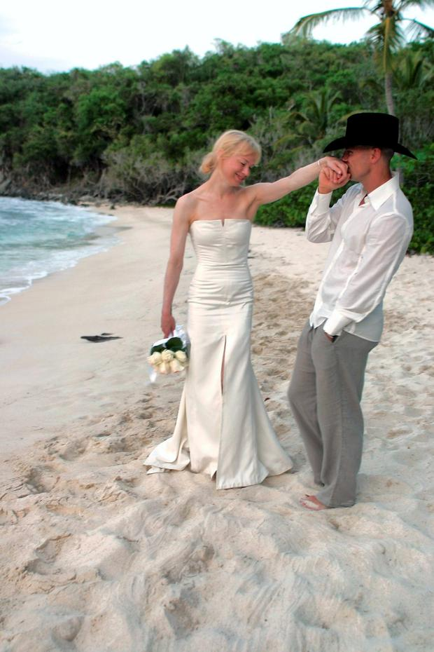 Whirlwind: The marriage of Renee Zellweger and Kenny Chesney failed to go the distance.