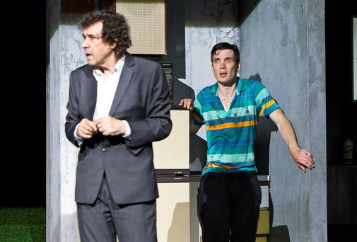 Stephen Rea and Cillian Murphy in Ballyturk.