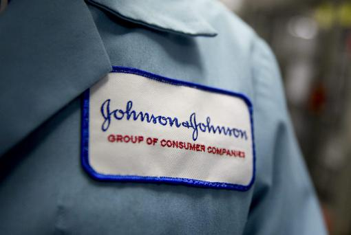Johnson & Johnson (J&J) reported strong sales of its new Olysio treatment for hepatitis C