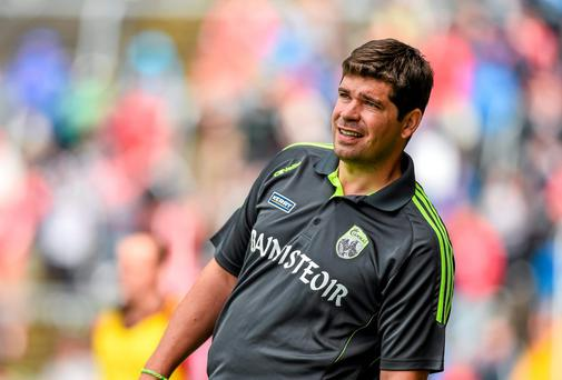 Kerry manager Eamonn Fitzmaurice can realistically start planning for an All-Ireland quarter final clash with Galway. Picture credit: Diarmuid Greene / SPORTSFILE