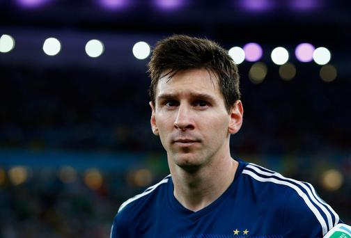 The years of being the creative fulcrum at Barcelona appear to have exacted a serious toll on Lionel Messi. Photo by Martin Rose/Getty Images