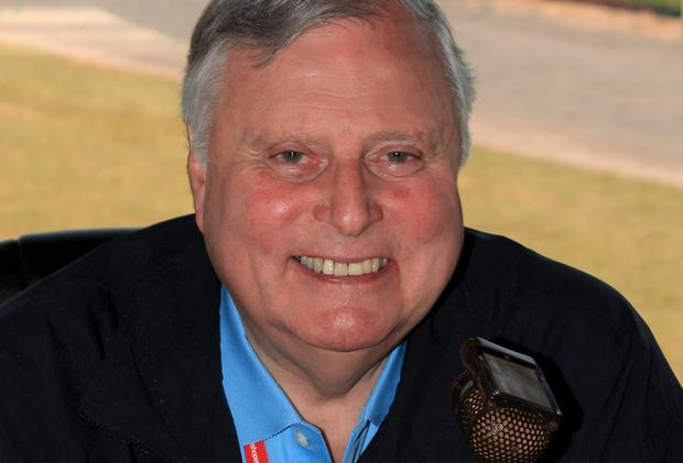 Veteran commentator Peter Alliss will be commentating on wildlife as much as golf at the Open. Photo by David Cannon/Getty Images